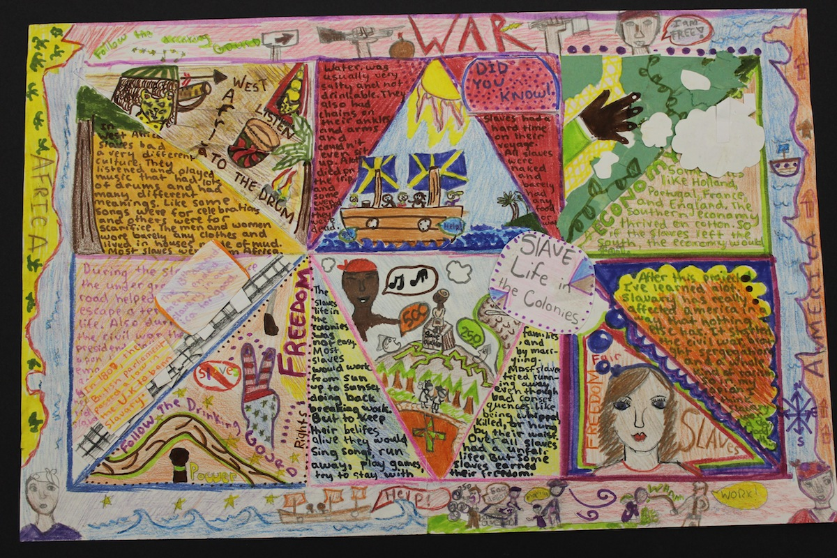 Quilt of Remembrance (Slavery Project) - Ashland Middle School ... : slavery quilt - Adamdwight.com